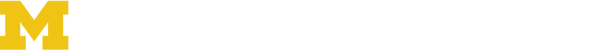 University of Michigan Rackham Development & Alumni Relations Logo