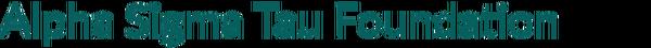Alpha Sigma Tau Sorority Foundation Logo